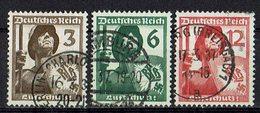DR 1937 // Mi. 643/645 O - Deutschland
