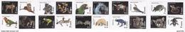 Samoa 2016, Animals, Parrot, Tiger, Felins, Frog, Butterflies, Koala, Turtle, Birds, Snake, 20val - Samoa (Staat)