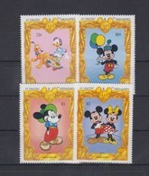 St. VINCENT 1994 - Disney Mickey, Skateboard - Mi 2795//2803; CV=5.6 € - Skateboard