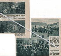 VLIEGTUIGRAMP TE BORSBEEK..1935..LEON STAMPE EN INGENIEUR IWANOFF KWAMEN OM TIJDENS PROEFVLUCHT - Vieux Papiers