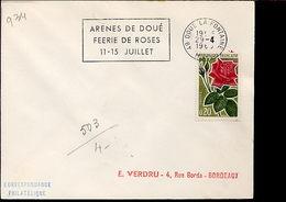 Flamme Concordante Féérie Des Roses Doue La Fontaine 49 - Roses