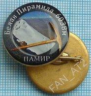 UKRAINE / Badge / Alpinism Tourism Mountaineering Tourism. Pamir. White Pyramid 2010s - Alpinism, Mountaineering