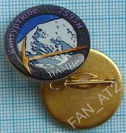 UKRAINE / Badge / Alpinism Tourism Mountaineering Tourism. Pamir. Kongur Tube 2010s - Alpinismus, Bergsteigen