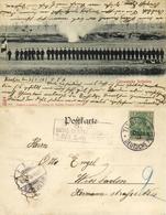China, TSINGTAU QINGDAO KIAUTSCHOU 膠州, Chinese Soldiers (1902) Postcard - China