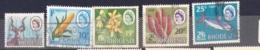 RHODEISA 1967-8 Sg 39408-12 Dual Currency Set Used Cv £31 - Rhodésie (1964-1980)