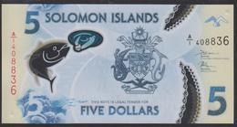 Solomon Islands 5 Dollar 2019 Pnew UNC - Solomon Islands