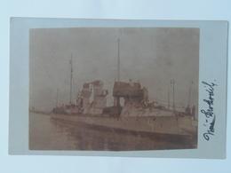 K.U.K. Kriegsmarine Marine Pola Foto Photo SMS 242 1916 Krokodil 53 T - Warships