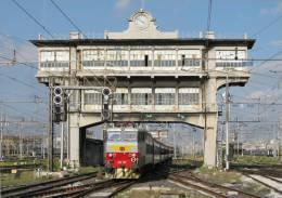 121 E 656.607 Casertane-Lucana Milano Centrale Cartoline Treni Tpaívo Railroad Trein Railways Postcards Zug Treno - Treni