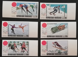 TOGO 1971  11Th. Winter Olympics Games  IMPERF - Togo (1960-...)