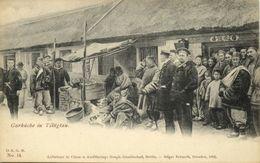 China, TSINGTAU QINGDAO KIAUTSCHOU 膠州, Chinese Soup Kitchen (1898) Postcard - China