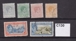 Bahamas 1938 6 Values To 10d - 1859-1963 Crown Colony