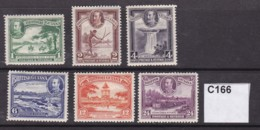 British Guiana 1934 6 Values To 24c (MM) - British Guiana (...-1966)