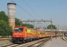 125 AW E 483.019 Bombardier Milano Porta Garibaldi Cartoline Treni Tpaívo Railroad Trein Railways Postcards Zug Treno - Treni