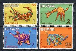 Botswana 1970. Yvert 219-22 ** MNH. - Botswana (1966-...)