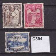 British Guiana 1931 3 Values To 6c - British Guiana (...-1966)