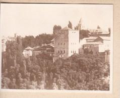 GRANADA GRENADE 1912 Photo Amateur Format Environ 7,5 X 5,5 Cm ESPAGNE - Lugares