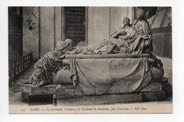 Paris:Eglise De La Sorbonne, Tombeau Du Cardinal De Richelieu, Par Girardon (19-1068) - Arrondissement: 05