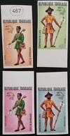 TOGO 1974 UPU Centenary IMPERF - Togo (1960-...)