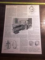 ENV 1900 LA MALADIE DES HUITRES MUSEUM LABORATOIRE DE PISCICULTURE GEORGES ROCHE - Old Paper