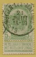 +MW-3971     *  MUYSEN LEZ MALINES *   OCB 56    Sterstempel     COBA   +15 - 1893-1907 Armoiries
