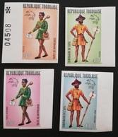 TOGO 1974 U P U  Centenary IMPERF. - Togo (1960-...)
