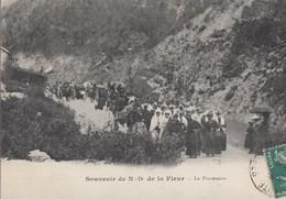 Thorame Notre Dame De La Fleur La Procession - Other Municipalities