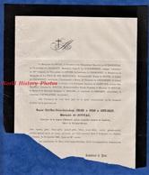 Document De 1881 - Château De JOVYAC , Rochemaure - Alfred Marie Thérèse Charles D' HILAIRE De TOULON De SAINTE JAILLES - Historical Documents