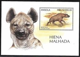 Angola,  Scott 2018 # 956,  Issued 1996,  S/S Of 1,  MNH,  Cat $ 3.00,  Wildlife - Angola