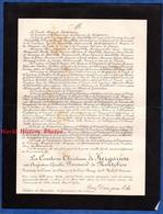 Document De 1881 - Château De BONNABAN , La Gouesnière - Augustine Amélie BERNARD De MONTEBISE Comtesse De KERGARIOU - Historische Dokumente