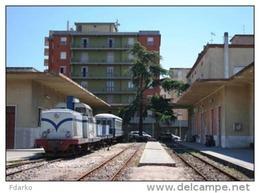 163 Treno ARST LDe 605 Breda, TIBB Nuoro Rairoad Trein Railweys Treni Steam Chemin De Fer Sardegna - Stazioni Con Treni