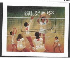 Antigua & Barbuda, Scott 2018 # 744, Issued 1984, S/S Of 1, MNH, Cat  $ 20.00, - Antigua And Barbuda (1981-...)