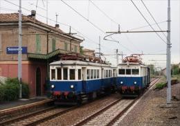 178 Treno ATCM A8 L52 Sassuolo Modena Rairoad Trein Railweys Treni Steam Chemin De Fer - Stazioni Con Treni