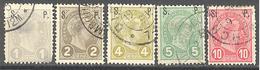 Luxembourg : Yvert N° Service 77/81° Les 77 Et 78 Clair°; Cote 50.00€ - Officials
