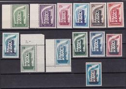 1956 EUROPA CEPT EUROPE  ANNATA  YEAR 6 Paesi (13 Valori) MNH** - Europa-CEPT
