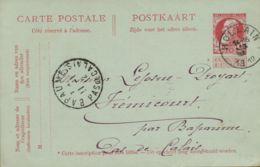 BR-8796    HOLLAIN   Briefkaart CobA +15 - 1905 Grove Baard