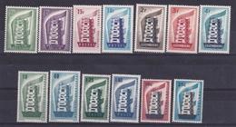 1956 EUROPA CEPT EUROPE  ANNATA  YEAR 6 Paesi (13 Valori) MNH** TORRE TOWER - 1956
