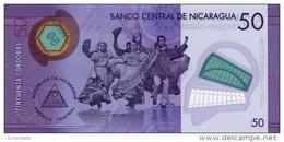 NICARAGUA P. 211a 50 C 2014 UNC - Nicaragua