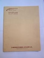 VIEILLES ARMES CETAVLON PISTOLETS SILEX  CENT-GARDES SYSTÈME FLAUBERT - Old Paper