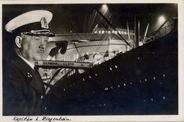 BARCOS / SHIPS , TARJETA POSTAL NO CIRCULADA ,  TURBINEN - SCHNELLDAMPFER BREMEN , CAPITAN L. ZIEGENBEIN - Schiffe