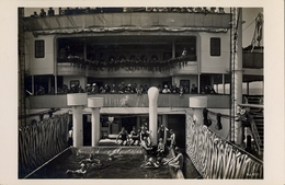 "BARCOS / SHIPS , TARJETA POSTAL NO CIRCULADA , MOTORSCHIFF "" ST. LOUIS "" , HAMBURG - AMERIKA LINIE , PISCINA - Schiffe"
