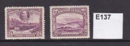 British Guiana 1934 24c And 72c (MM) - British Guiana (...-1966)