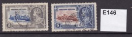 British Guiana 1935 Silver Jubilee 2c And 6c - British Guiana (...-1966)
