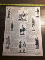 ENV 1900 ARMEE EN MINIATURE NAPOLEON GEORGES KOLB MEYER DE STRASBOURG - Old Paper