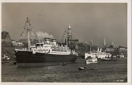 "1935 BARCOS / SHIPS , TARJETA POSTAL NO CIRCULADA , HAMBURG , AUSREISE DES M.S. 2 ST. LOUIS "" , HAMBURG - AMERIKA LINIE - Schiffe"