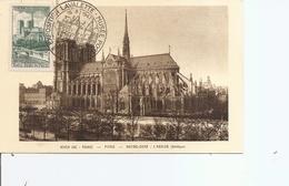 France - Notre Dame De Paris ( CM De 1947 à Voir) - Maximumkarten