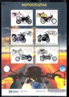 629  Motorcycles - Motos - Brasil Yv 2987-92 Minisheet - MNH - 1,95 (4) - Motos