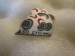 PIN'S   ASO  CYCLISME - Cyclisme