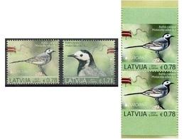 2019 - LETTONIA  / LATVIA - EUROPA  CEPT - UCCELLI / BIRDS - SET COMPLETO. MNH. - 2019