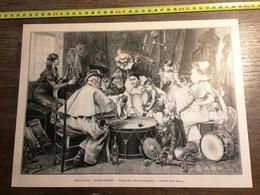 ENV 1900 BONNE RECETTE TABLEAU DE MIRALLES DARMANIN PIERROT CIRQUE - Old Paper
