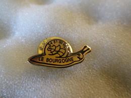 PIN'S   LE BOURGOGNE  ESCARGOT - Animaux